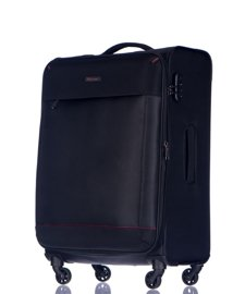 Duża walizka PUCCINI EM-50580 A czarna