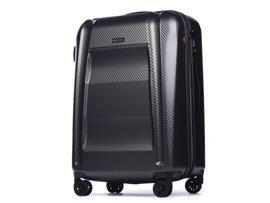 Duża walizka PUCCINI PC017 New York szary antracyt