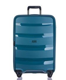 Duża walizka PUCCINI PP012 Acapulco turkusowa