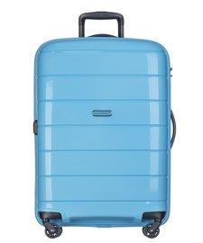 Duża walizka PUCCINI PP013 Madagaskar błękitna