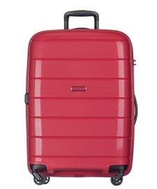 Duża walizka PUCCINI PP013 Madagaskar czerwona