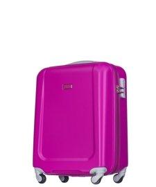 Mała walizka PUCCINI ABS04 Ibiza różowa