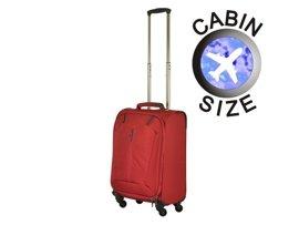 Mała walizka PUCCINI EM-50320 C czerwona