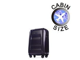 Mała walizka PUCCINI PC017 New York fioletowa