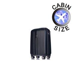 Mała walizka PUCCINI PC018 Toronto czarna