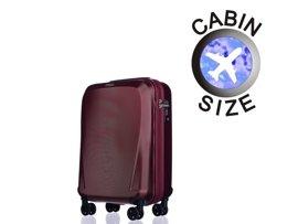 Mała walizka PUCCINI PC019 Londyn bordo