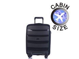 Mała walizka PUCCINI PP012 Acapulco czarna