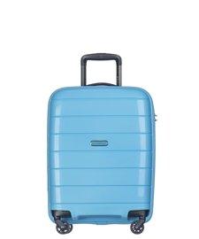 Mała walizka PUCCINI PP013 Madagaskar błękitna