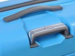 Duża walizka PUCCINI PP007 Tokyo niebieska