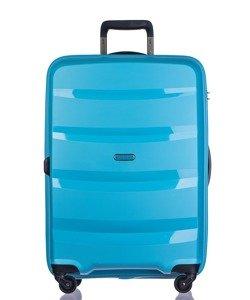 Duża walizka PUCCINI PP012 Acapulco błękitna