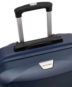 Mała walizka PUCCINI ABS03 Paris granatowa