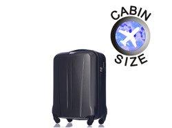 Mała walizka PUCCINI ABS03 Paris szary antracyt