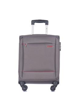 Mała walizka PUCCINI EM-50720 Parma szara