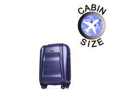 Mała walizka PUCCINI PC017 New York granatowa