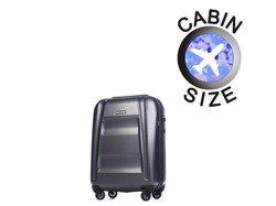 Mała walizka PUCCINI PC017 New York szary antracyt