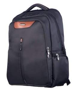 Plecak/plecak na laptop PUCCINI PM-70363  czarny