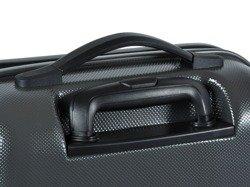 Średnia walizka PUCCINI PC005 Voyager grafitowa