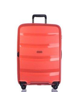 Średnia walizka PUCCINI PP012 Acapulco pomarańczowa